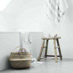 Du linge de bain bien rangé #panierboule