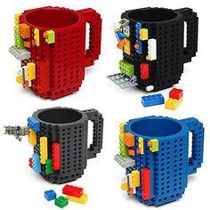 DIY Building Blocks Mug