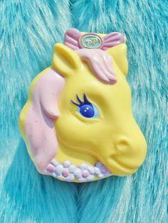 Vintage 90s Polly Pocket Pony Ridin Retro Collectible Toy via Etsy