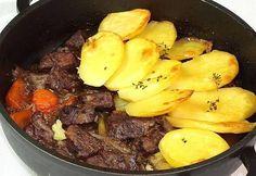 Estofado al horno con patatas