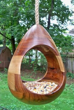 "One of the only birdfeeders that doesn't look cheap or ""homey"". It's a piece of art. Love it."