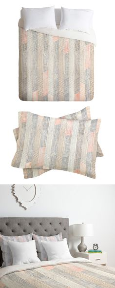 With a keen eye and a working knowledge of geometry, artisans succeed in creating intriguing designs that offer a dimensional effect. We see that in this Avalon Duvet Cover and its almost three-dimensi...  Find the Avalon Duvet Cover, as seen in the Modern Rustic Retreat Collection at http://dotandbo.com/collections/modern-rustic-retreat?utm_source=pinterest&utm_medium=organic&db_sku=117994