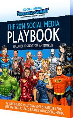 Hot tips from the social media superheros. http://www.socialmediasuperherosummit.com/playbook