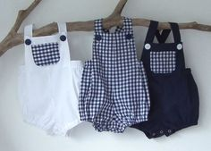 This Baby Boy Newborn to Baby Boy Rompers, Navy Gingham Plaid Check Romper Summer Sunsuit Toddler Baby Shower Christening Baptism is just one of the custom, handmade pieces you'll find in our boys' clothing shops.Bebé niño recién nacido a bebé ni Baby Outfits, Boys Summer Outfits, Newborn Outfits, Newborn Boy Clothes, Cute Baby Clothes, Baby Boy Newborn, Summer Romper, Summer Baby, Summer Time