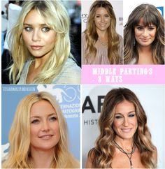 Middle Parting Hair Ideas