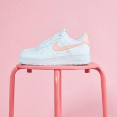 f83938e208 Nike Air Force 1  07 Patent White Oracle Pink