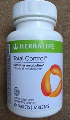 Herbalife Total Control with Ginger Root Extract and Green Tea Leaf Extract - 90 Tablets