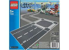LEGO CITY Lige vejbane og vejkryds (7280)
