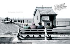 Knott End On Sea, The Ferry And Slipway c.1950. From The Francis Frith Collection, a privately-owned archive of over 130,000 photographs of Britain from 1860-1970 that you can browse online for free anytime. #francisfrith #photography #nostalgia