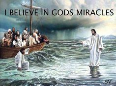 I believe in Miracles!   My soul was set free~ my soul awakened to a brand new life~ Jesus set me free ~  i will never be the same.