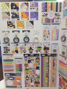 SPC Trade Show Summer 2014 Doodlebug Design Ghouls and Goodies Collection - Scrapbook.com
