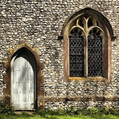 Church Door and Window....