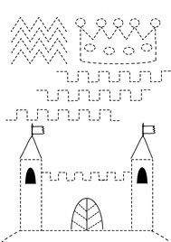 pregrafismo linee spezzate Tracing Worksheets, Preschool Worksheets, Pre Writing, Writing Skills, Motor Activities, Activities For Kids, Castles Topic, Chateau Moyen Age, Educational Games