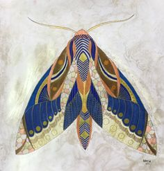 My Colouring Millie Marotta Animal kingdom Moth Butterfly / Mite papillon Doodles Zentangles, Illustrations, Illustration Art, Bug Art, Beautiful Bugs, Insect Art, Bugs And Insects, Detailed Drawings, Painting Inspiration
