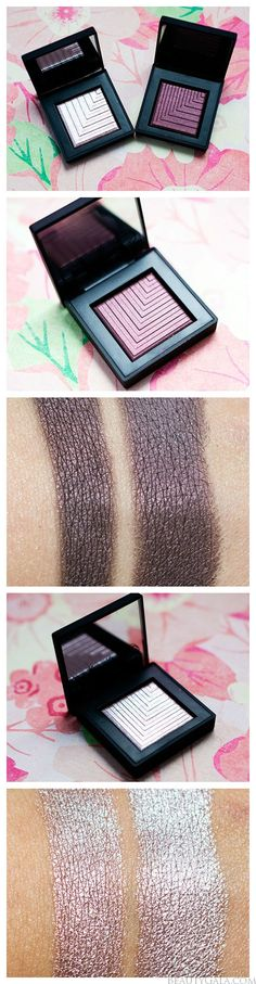 """NARS Dual Intensity Eyeshadows, """"Callisto"""" and """"Subra"""" Swatches & Review"""