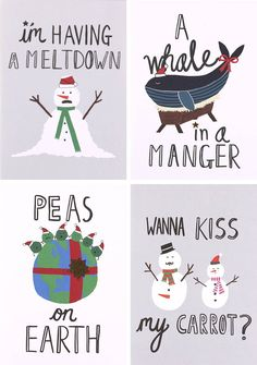 How to make a Christmas jumper - Paperchase funny Christmas slogans!