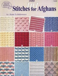 Крючок. Crochet 101 Stitches for Afghans - Osinka.Knigi.Kruchok - Picasa-Webalben