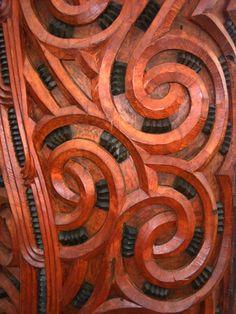 Miss living here!! Maori carvings / Rotorua, New Zealand / from Ninja vs. Penguin