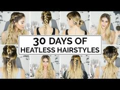 12 Easy Ways To Curl Your Hair - YouTube