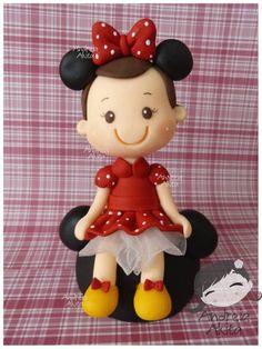 Menina Minnie Mouse | Andreia  Akita | 2E7748 - Elo7