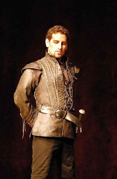 Juan Diego Florez - King of the High Cs, good to look at. He qualifies as a great tenor.
