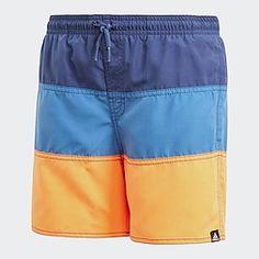 adidas Performance Swim Short   Παιδικό Μαγιό (CV5212) Boys Swim Shorts, Pink Kids, Adidas, Swim Trunks, Kids Boys, Trendy Fashion, Spiderman, Dark Blue, Baby Boy
