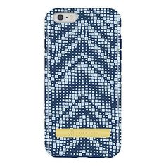Trina Turk Dual Layer Protective Case Cover for iPhone 6 Plus 6s Plus - Hayward Blue