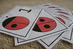Thought some of you might like to have these cute ladybug counting cards. We are using these to work on number recognition and counting. Counting Activities, Spring Activities, Numeracy Activities, Math Games, Book Activities, Preschool Themes, Preschool Printables, Preschool Education, Preschool Learning