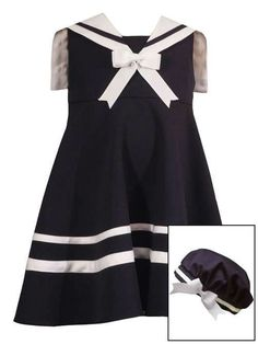 I like the sailor dress idea for maybe a school uniform for little Bee
