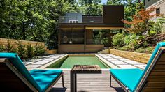 In advance of the MA! modern home tour, homeowners Stacey Collier and Mark Nevins played gracious hosts to Curbed Atlanta at their Lake Claire pad, explaining the addition's logic, and previewing future usage plans. The project wrapped in August.