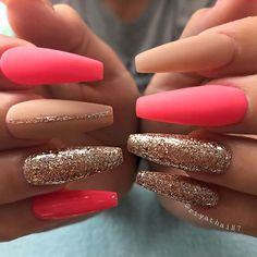 Your nails will appear fabulous! In general, coffin nails are also thought of as ballerina nails. Cute pastel orange coffin nails are amazing if you want to continue to keep things chic and easy. Marble nail designs are perfect if… Continue Reading → Matte Acrylic Nails, Coffin Nails Ombre, Acrylic Nail Designs, Bright Summer Acrylic Nails, Ombre Nail, Bright Pink Nails, Bright Summer Nails, Nail Pink, Wedding Nail Polish