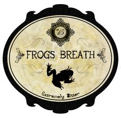 Frogs Breath (a few drops of garlic oil or another stinky oil in the top of the jar would be handy)