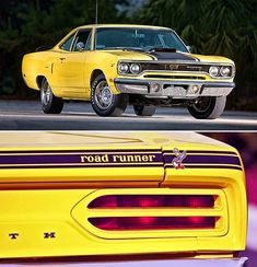 1970 Plymouth Road Runner 440 Six Pack Plymouth Road Runner, Cars Usa, Us Cars, Best Muscle Cars, American Muscle Cars, Pontiac Gto, Chevrolet Camaro, Pontiac Firebird, Street Racing