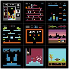 Retrogaming Game Art