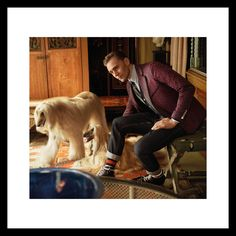 """@gucci: """"Afghan hounds and a jacquard jersey jacket in the new #GucciTailoring campaign featuring #TomHiddleston"""" https://twitter.com/maryxglz/status/780402501774442496"""