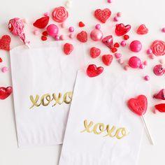 'XOXO' Favor Bags | Shop Sweet Lulu
