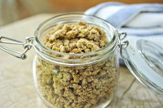 Homemade grape nuts  the official site of chef georgia pellegrini | food, travel, lifestyle, hunting and redefining slow food