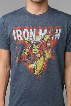 Junk Food Iron Man Tee - Urban Outfitters ( 28.00) - Svpply 37a39a184d466