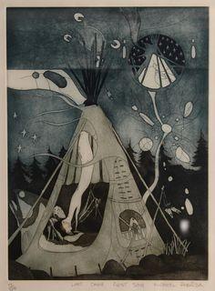 """Last camp, first song"" by Michael Robinson, artist Maynards Industries - Fine Art & Antiques Michael Robinson, Auction, Industrial, Fine Art, Antiques, Drawings, Illustration, Artwork, Artist"