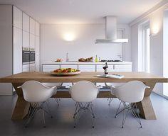Project Heijmans by Tripple-D #interiores #cocina #comedor