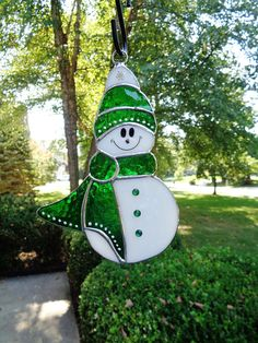 Happy Little Snowman Ornament