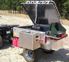 Off-Road Camping Trailers   This is the Camp Trailer with all the accessories added!
