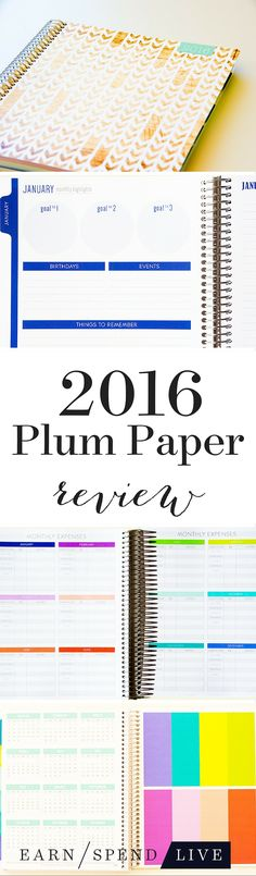The Plum Paper planner is the perfect weight: Solid, but not so heavy that carrying it around is uncomfortable, and it has just enough give to conform to the curve of my arms. It's easy to imagine toting it around for the next 12 months. This is a planner that will keep you organized and focused.