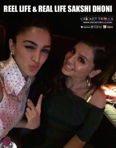 Actress Kiara Advani with Sakshi Dhoni  http://ift.tt/2eiaQ5V - http://ift.tt/1ZZ3e4d