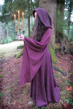 Purple Fairytale Hood.  This is really cool!  I'd like it more if it was gray, but this is awesome!!