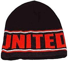 Black UNITED knitted Beanie Hat