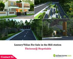 Luxury Villas For Sale in the Hill station Thrissur@ Negotiable for more info touch with:http://goo.gl/ELiNqh