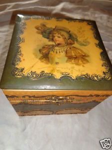 celluloid boxes | ... VICTORIAN-GIRL-PORTRAIT-FRANCES-BRUNDAGE-CELLULOID-COLLAR-DRESSER-BOX