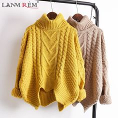 Cheap warm sweaters women, Buy Quality sweater women directly from China warm sweater Suppliers: [GUTU] autumn spring 2018 solid color hot sale turtleneck long sleeve knitting pullover keep warm sweater women Warm Sweaters, Sweater Coats, Cable Knit Sweaters, Sweater Outfits, Sweaters For Women, Chunky Sweater Outfit, Pullover Outfit, Loose Sweater, Ladies Dress Design