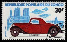 """P.R. CONGO 325 (Mi464) - Classic Automobiles """"Citroen, 1935"""" (pa35497)"""